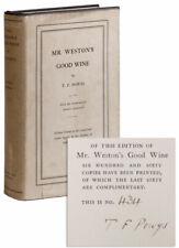 T.F. Powys; George Charlton, illus. Mr. Weston's Good Wine. 1st ed., ltd./Dj.
