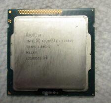 Intel Xeon E3-1240V2 Quad Core Processor ~ SR0P5 ~ Socket 1155 ~ Tested Good