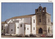 Faro church Algarve Portugal Postcard unused VGC