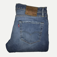 Levis 511™ 34 32 Mens Jeans Slim Fit Mid Blue Stretch Denim ENGINEERED