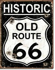 Old Route 66 Metal Sign Tin New Vintage Style #1938