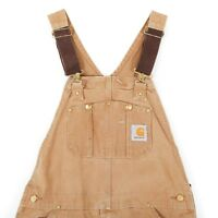 Carhartt Chore Dungarees | 32W 33L | Vintage Coveralls Overalls Work Wear Denim