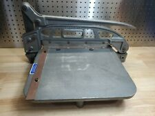 Vtg Industrial 20 Cast Iron Steel Heavy Duty Commercial Paper Cutter Trimmer