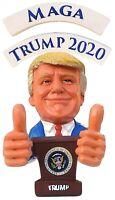 President Trump Funny #MAGA 2 Thumbs Up Trump 2020 Bobble Finger Bobblehead