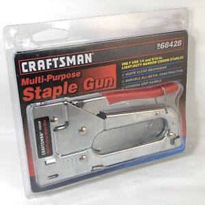 Craftsman Multi-Purpose Staple Gun 68428 - NEW