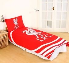 New LIVERPOOL F.C. Football Club Official Single Duvet Quilt Cover Set Boys Kids