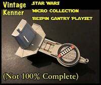 Star Wars Kenner Micro Collection Bespin Gantry Playset (Not 100% Complete)