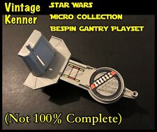 More details for star wars kenner micro collection bespin gantry playset (not 100% complete)