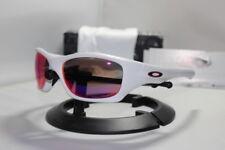New Oakley Pit Bull Matte White/00 Red Polarized Asian Fit 009161-07 Sunglasses