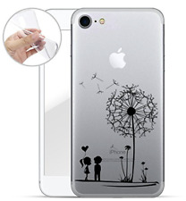"Handyhülle iPhone 7 ""Pusteblume"" transparent/weich"