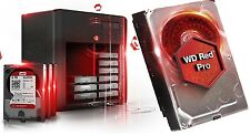 WD Red Pro 6TB NAS Desktop Hard Drive Intellipower 6 GBs 128 MB Cache WD6001FFWX