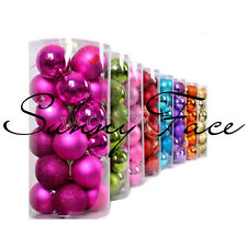 Hot Festival Party Christmas Tree Hanging Decorations Baubles Balls Ornaments #L