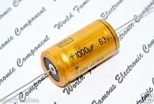 1pcs - ROE EG 1000uF (1000µF) 63V Axail Capacitor / Kondensatoren - For Audio