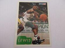 Carte NBA FLEER 1993-94 #14 Reggie Lewis Boston Celtics