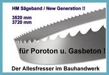 Zagro UVB400 NEU Sägeband Bandsägeblatt HM 2880 x27mm H3 für Poroton u Yton NEW