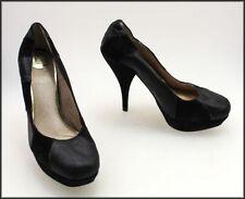 Stiletto Leather Pumps, Classics Geometric Heels for Women