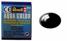 Revell 36107 - Aqua Color - Acrylfarbe - Farbe 07 - schwarz - matt - RAL 9005