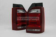 VW Transporter T6 16-18 1 Door LED Dark Red Rear Lights Set Left Right OEM Hella