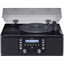 Teac LP-R660USB-PB Turntable with USB, CD Recorder, Cassette Deck & AM/FM Tuner