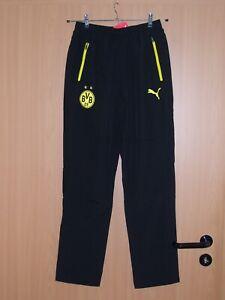 Puma Borussia Dortmund BVB Leisure Pant Hose Sporthose Trainingshose S neu