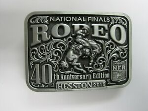 National Finals Rodeo Hesston 2015 NFR Youth (Small) Cowboy Buckle New Wrangler