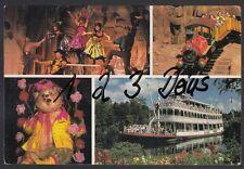 791Q)  Ansichtskarte  AK   Walt Disney World   Frontierland  USA