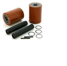 Crown WP2000 Electric Pallet Jack Load Wheel Kit   (Load Wheels, Axles, Hardware