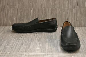 Trask Sherwood Leather Casual Loafers - Men's Size 12M, Black NEW