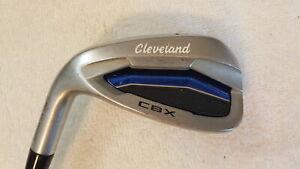 Used Cleveland CBX Individual Pitching Wedge - Miyazaki 6R - Regular - 4444 - LH