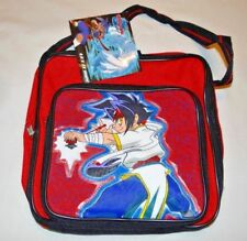 NEW WITH TAGS BEYBLADE  BAG RED POW