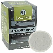 Java One Single Cup Coffee Pods Gourmet Decaf 14 count