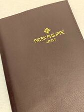 PATEK PHILIPPE LEATHER FOLDER & BOOKLET - VERY NICE CONDITION - BUY IT NOW!