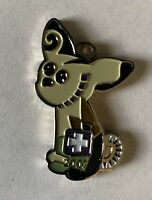 Pocketpups Dazzle Trackable Nickel Finish Geocoin Unactivated Limited Edition
