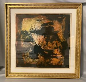 Original/Signed/HOI LEBADANG/Abstract Expressionist/#250/275.