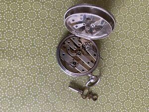 taschenuhr silber antik 1850
