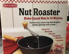 Back to Basics Nut Roaster for Stove Top Glazed Nuts in 10 Minutes