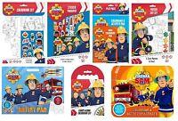 FIREMAN SAM 2015 Design Colouring, Activity & Sticker Packs/Kits (Kids/Activity)