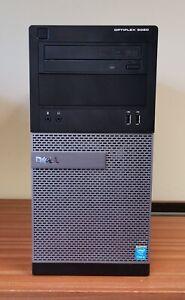 Dell OptiPlex 3020 - Core i5 4590 CPU, 8GB DDR 3 memory, DVD-RW, No hard drive