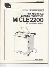 # 0792 Fuji Microfilm Camera Processor MICLE200