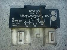 Volvo OEM AC cooling fan motor relay 2 speed 740 850 960 940 S70 V70 S90 V90 C70