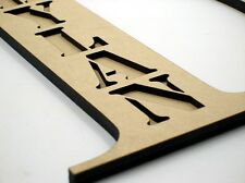 20cm Kids Wooden Stencil Words Wood Letters Name Assembly Required TNR