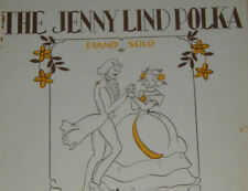 1940'S ERA SHEET MUSIC SONG BOOK ALBUM - JENNY LIND POLKA PIANO SOLO
