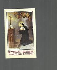 97261 LIBRICINO RELIGIOSO  NOVENA E PREGHIERA A SANTA RITA DA CASCIA