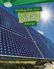 Finding Out About Solar Energy (Searchlight Books) (Searchlight Books-ExLibrary