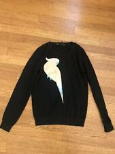 Marc By Marc Jacobs Parrot Print Sweater Black Size XS