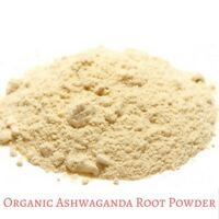 Premium Organic Ashwagandha Root Powder 50/100/200/400/1Kg - Withania somnifera