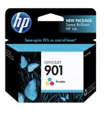 4 Packs!!!! HP #901 CC656AN Color Ink Cartridge GENUINE NEW! Pack Of 4