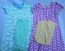 ❤ HANNA ANDERSSON girls play dress shorts LOT 160 tulip butterfly 12 14 FREESHIP