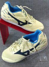 MIZUNO Womens Tempo LD Light Yellow Navy Track Running Shoes Spikes W9.5