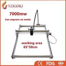 Laser Engraving Cutting Machine 65X50cm 7000mW Engraver Cutter